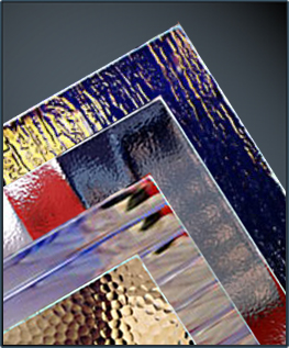 Textured glass and decorative glass, Finch Industries, Inc.